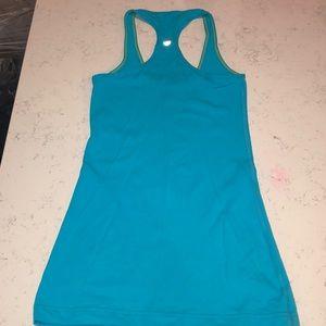 Lululemon blue racerback top